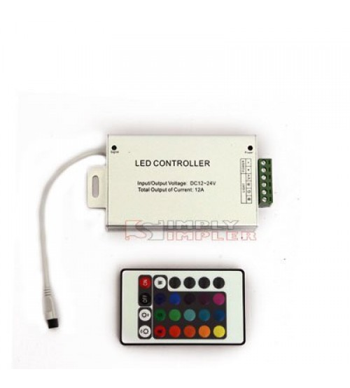 RGB Strip Controller 12A Infra Red