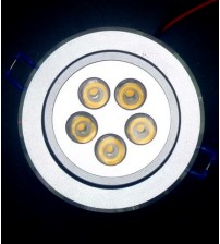 "Generic Ceiling Light 5W, 3.5"" Bulat"