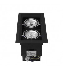 HILED Grill Ceiling Light 2 x 3W