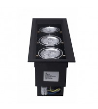 HILED Grill Ceiling Light 3 x 3W