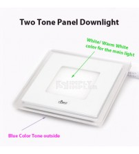Panel HiLed Two Tone Square 9W