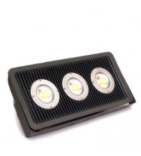 Floodlight LED 150 Watt Semi Focus with Lens Black Housing - generic series