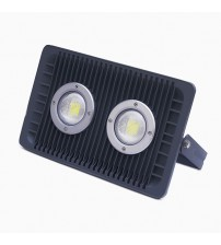 Floodlight LED 100 Watt Semi Focus with Lens Black Housing - generic series