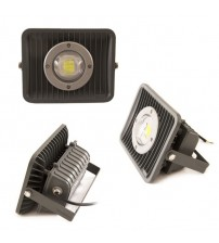 Floodlight LED 30 Watt Semi Focus with Lens Black Housing - generic series
