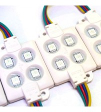 HiLed RGB Module 4 mata - 4 Way (pack of 20 pc)