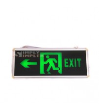 "Emergency Light ""Exit"" Sign"
