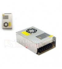 HiLed Switching Power Supply 24V DC 10A with Fan - High Quality