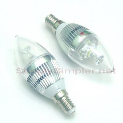 Led E 14. Awesome W Led Candle K Eses Small Screw Udw With ...